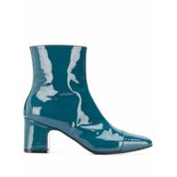 Carel Ankle Boot Sucette Com Salto 65Mm - Azul