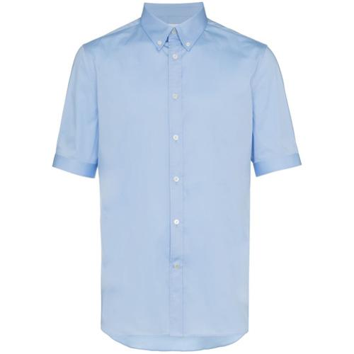Imagem de Alexander McQueen Camisa slim fit 'Brad Pitt' - Azul
