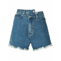 Ground Zero Descending Angel Asymmetric Shorts - Azul