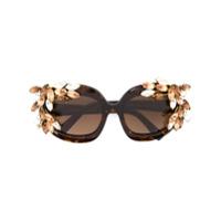 Dsquared2 Eyewear Óculos De Sol 'ophelia' - Estampado