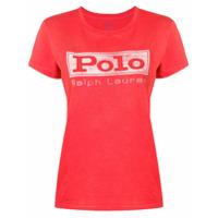 Polo Ralph Lauren Camiseta Com Estampa De Logo - Vermelho