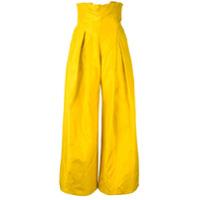 Abadia Calça De Seda - Amarelo