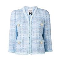 Edward Achour Paris Jaqueta De Tweed - Azul