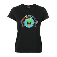 Balenciaga Camiseta You Are The World - Preto
