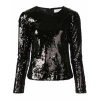 Racil Sequinned Sweater - Preto