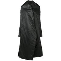 Masnada Padded Oversized Coat - Preto