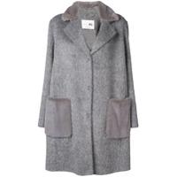 Manzoni 24 Cocoon Coat - Cinza