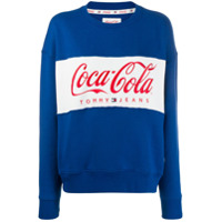 Tommy Jeans Moletom 'tommy Jeans X Coca Cola' - Azul