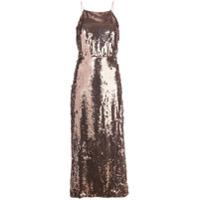 Jason Wu Collection Vestido Midi Com Paetês - Rosa