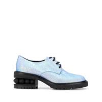 Nicholas Kirkwood Sapato Derby Suzi - Estampado