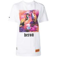 Heron Preston Camiseta Com Estampa Gráfica - Branco