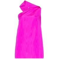 Taller Marmo Vestido Swinging Sixties Assimétrico - Rosa
