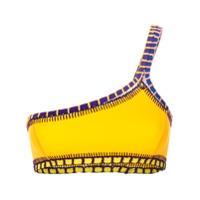 Kiini Sutiã De Biquíni De Um Ombro Só 'ro' - Amarelo