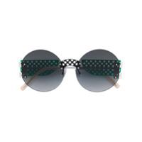 Oxydo Óculos De Sol Redondo - Green