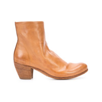 Officine Creative Ankle Boot De Couro 'chabrol' - Marrom