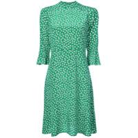 Hvn Vestido Casual Estampado - Verde