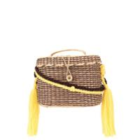 Nannacay Kiki Medium Rope Handle Tote Bag - Marrom