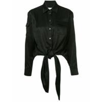 Osman Camisa Com Amarração - Preto
