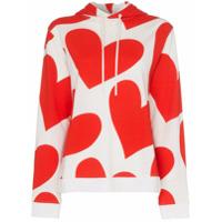 House Of Holland Suéter De Lã Com Capuz - Vermelho