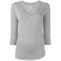Majestic Filatures Camiseta Com Decote V - Preto