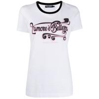 Dolce & Gabbana Camiseta Estampada 'l'amore' - Branco