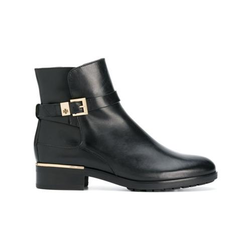 Imagem de Hogl Ankle boot de couro com fivela - Preto