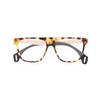 Gucci Eyewear Armação De Óculos Tartaruga - Neutro