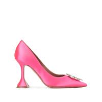 Amina Muaddi Sapato Begum 95 - Rosa
