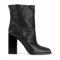 Saint Laurent Ankle Boot 'jodie 105 Western' - Preto