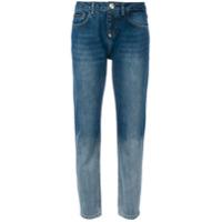 Philipp Plein Calça Jeans Com Contraste - Azul