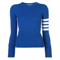 Thom Browne Suéter De Cashmere - Azul