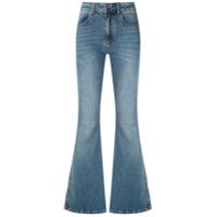 Le Lis Blanc Calça Jeans Flare - Azul