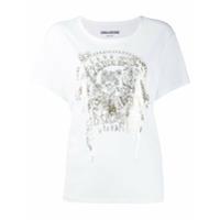 Zadig&voltaire Foil-Print T-Shirt - Branco