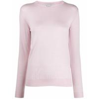 Stella Mccartney Suéter Decote Careca - 6900 Pink