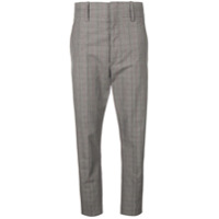 Isabel Marant Étoile Cropped Tailored Trousers - Cinza