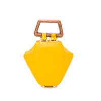 Sabry Marouf Bolsa Tote Micro Tut - Amarelo