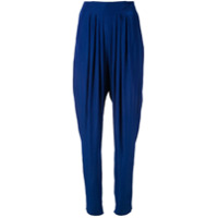 Lanvin Calça Cenoura - Azul