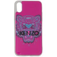 Kenzo Capa Para Iphone X/xs Tiger - Rosa