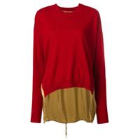 Uma Wang Suéter De Cashmere - Vermelho