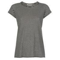 Nili Lotan Camiseta Com Estampa De Listras - Preto