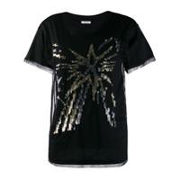 P.a.r.o.s.h. Camiseta Nempid - Preto