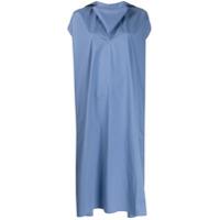 Sofie D'hoore Vestido Midi Oversized - Azul