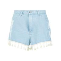 Pop Up Store Short Jeans Com Franjas - 0378
