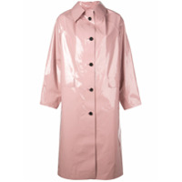 Kassl Trench Coat Oversized - Rosa