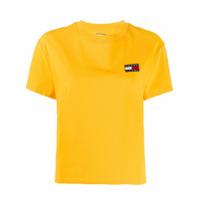 Tommy Jeans Camiseta Com Bordado - Amarelo