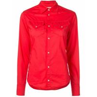 A Shirt Thing Camisa Com Bolsos - Vermelho