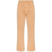 Slvrlake Calça Jeans Flare Cintura Alta - Neutro