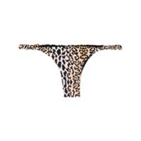 Reina Olga Scrunchie Bikini Bottoms - Neutro
