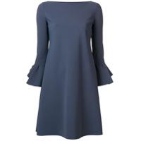 Le Petite Robe Di Chiara Boni Vestido Mangas 3/4 - Cinza