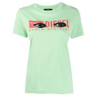 Diesel Camiseta Com Estampa T-Sily-Yd - Verde